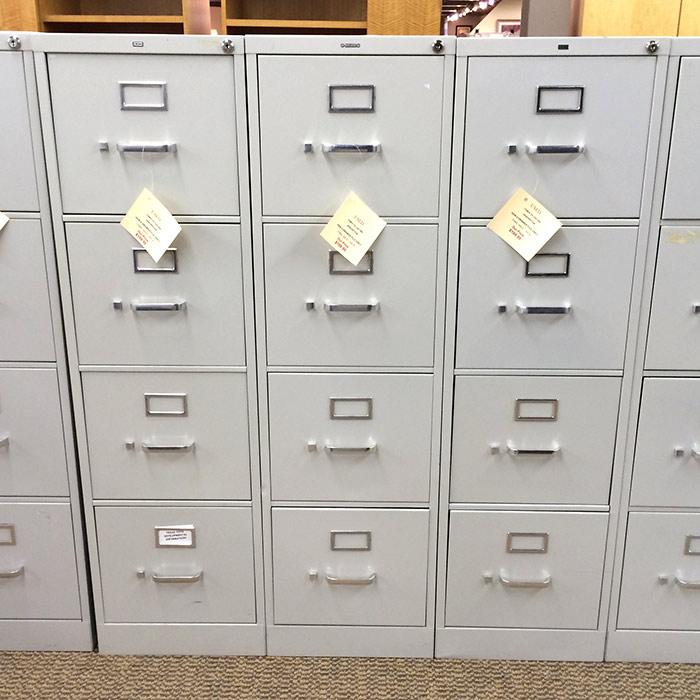 Used Vertical File Cabinets