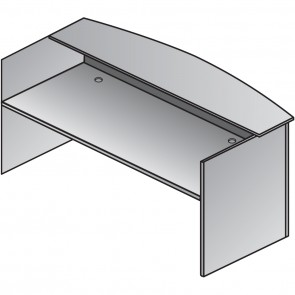 "Nexus 71"" Reception Desk Shell N-122"