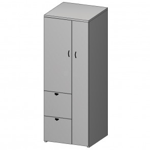 Nexus Wardrobe & File Cabinet N-152