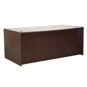 "Ultra 71"" Bow Top Desk Shell OFD-189"