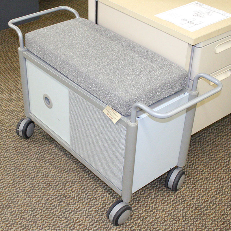 Used Mobile File Pedestals