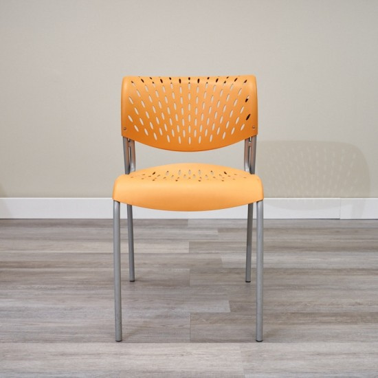 Used Izzy Stack Chair (Orange) 000010573380