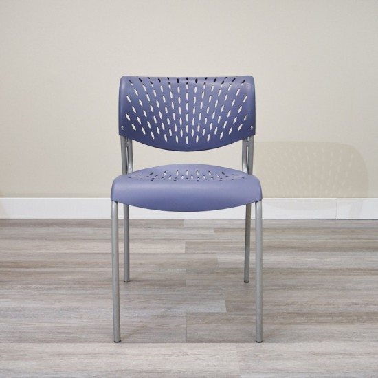 Used Izzy Stack Chair (Blue) 000010573382