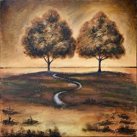 Two Trees Stretched Canvas Print (GFTC 081533) ART9830GFTC