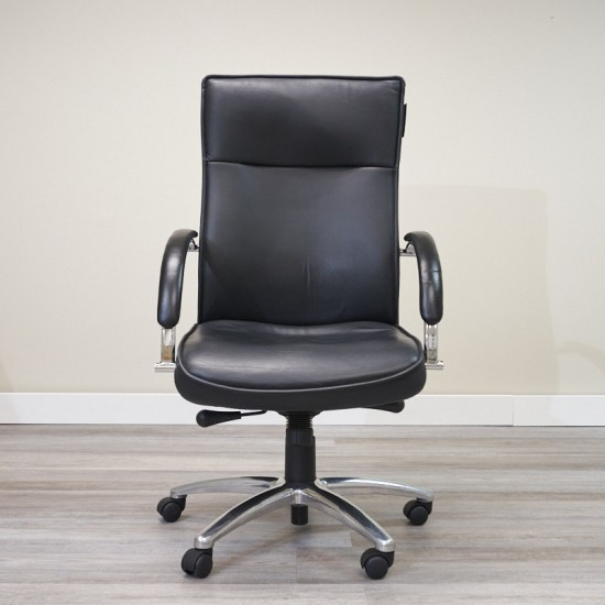 Used High Back Executive Office Chair (Black) CHE1662-006