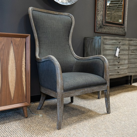 Accent Chair Ckoseout: [Closeout] F.O.A. Accent Chair (Gray) CHL1003FOA