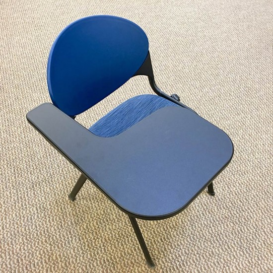 National Cinch Chair with Tablet Arm (Blueberry) CHS1003NAT