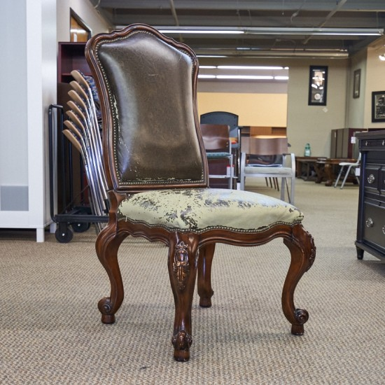 Used Traditional Armless Guest Side Chair CHS1643-016