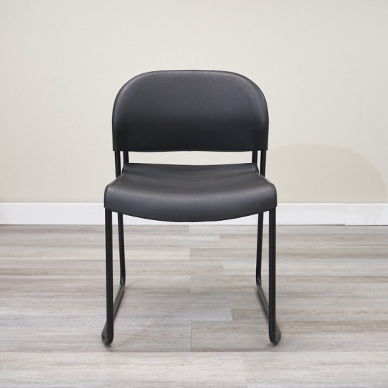 Used Hon Stack Chair (Black) CHS9999-1059