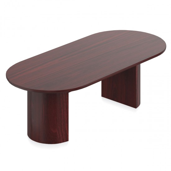 OTG Ventor 8' Conference Table VF9642RH-CCH (Cordovan) [Closeout]
