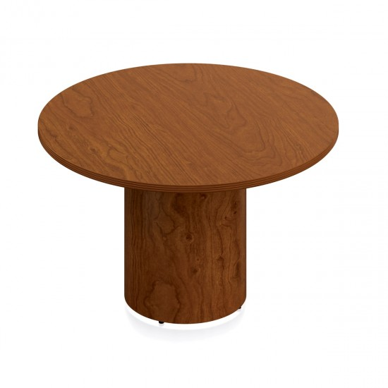 """OTG Ventor 48"""" Round Conference Table VF48R-TCH (Toffee) [Closeout]"""