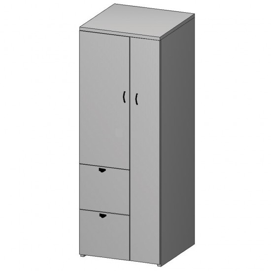 Nexus Wardrobe & File Cabinet N-152CHY (Cherry)