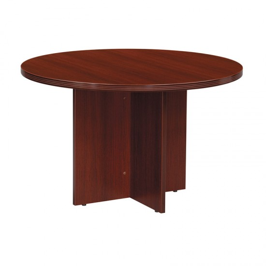 Nexus 47 Round Conference Table N-23MAH (Mahogany)