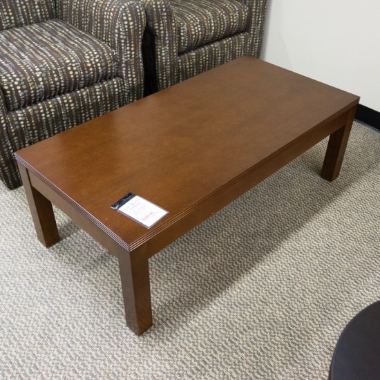 """[Closeout] OFD Kent 48"""" Coffee Table K-19LCH (Light Cherry) OCC03AOFCO"""