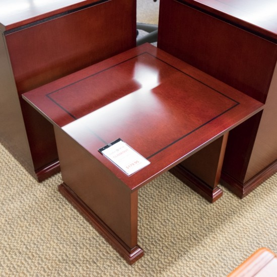 [Closeout] OFD Madison 24x24 End Table (Mahogany) OCC07AOFCO