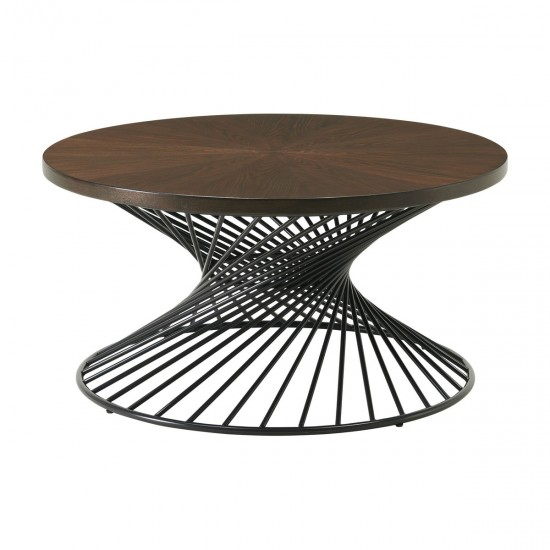 Ellie International Tammi Occasional Table with Spiral Base