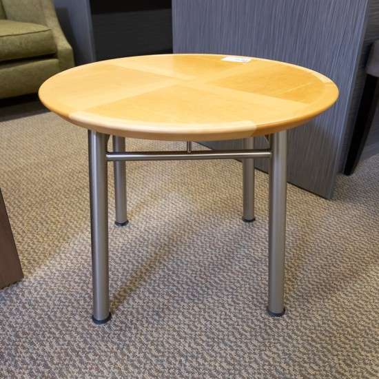 Used Round End Table (Maple) OCC1449-061