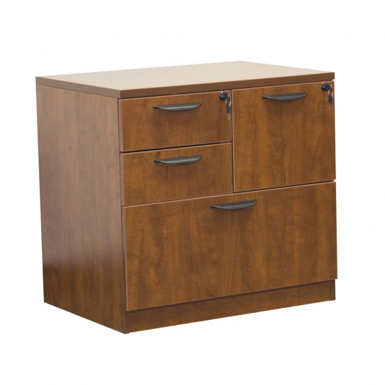 Ultra Combo File Cabinet OFD-114CHE (Cherry)