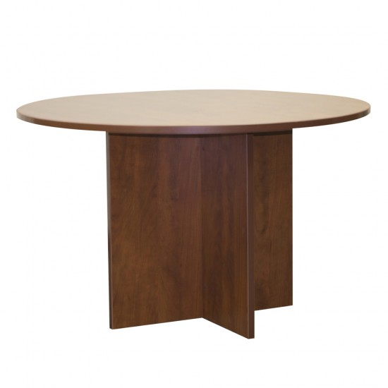 "Ultra 47"" Round Conference Table OFD-123CHE (Cherry)"