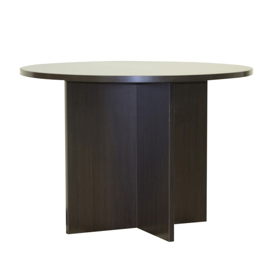 "Ultra 42"" Round Conference Table OFD-127ESP (Espresso)"