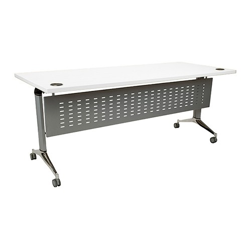 Clear Design Optima 24x60 Training Table with Modesty Panel OTT2460