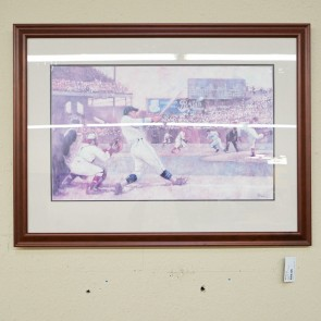 Used At The Ball Game Framed Art (41.5x31) ART1661-107