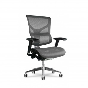 X-Chair X2 K-Sport Executive Task Chair (Gray)