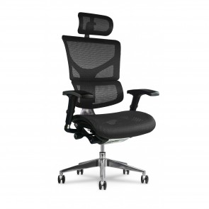 X-Chair X2 K-Sport Executive Task Chair with Headrest (Black)