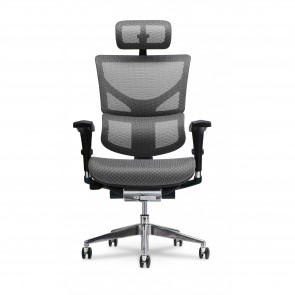 X-Chair X2 K-Sport Executive Task Chair with Headrest (Gray)