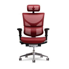 X-Chair X2 K-Sport Executive Task Chair with Headrest (Red)