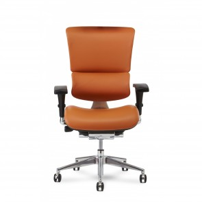 X-Chair X4 Leather Executive Chair (Cognac)