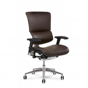 X-Chair X4 Leather Executive Chair (Brown)