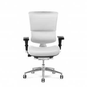 X-Chair X4 Leather Executive Chair (White)