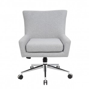 Boss Carson Executive Accent Chair (Granite Linen)