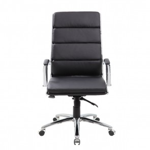Boss CaressoftPlus™ High-Back Executive Chair (Black)