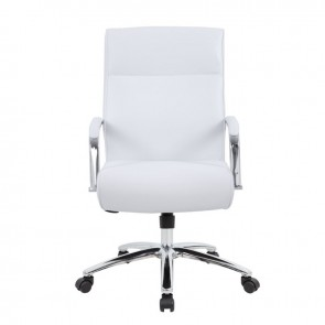 Boss Modern Executive Conference Chair (White)