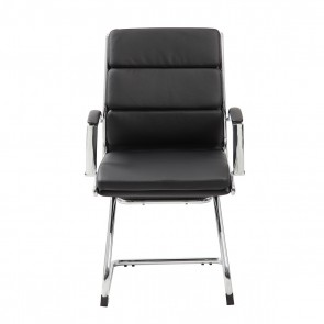 Boss CaressoftPlus™ Executive Guest Chair (Black)