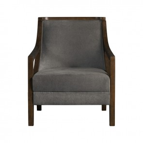 Front - Ellie International Popkins Guest Chair (Charcoal)