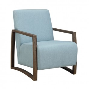 Ellie International Harman Guest Chair (Light Blue)