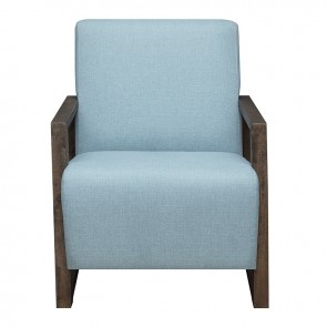 Front - Ellie International Harman Guest Chair (Light Blue)
