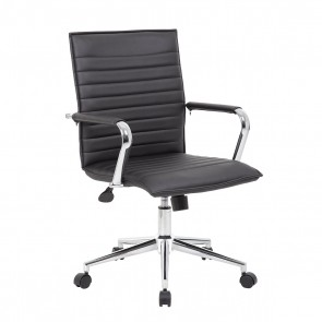 Boss Modern Mid-Back Task Chair (Black)
