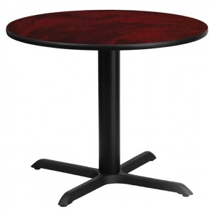 "36"" Round Break Room Table with X Base CI-BREAK-X36R"