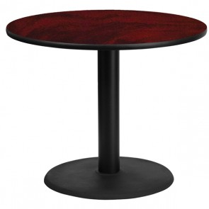 "36"" Round Break Room Table with Round Base CI-BREAK-36R"