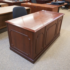 Used OFS 30x60 Traditional Office Desk (Mahogany) DEE1691-008