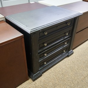 Used Traditional 2 Drawer File Cabinet (Espresso) FIL9999-1177