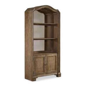Hooker Solana Bunching Bookcase 5291-10445 - Side View