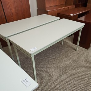 Used 24x60 Folding Table (Putty & White) MIS1633-004