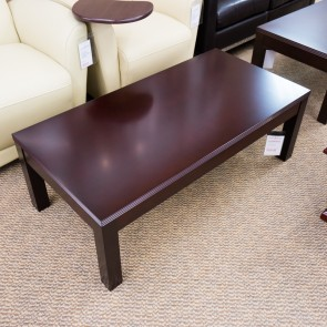 "[Closeout] OFD Kent 48"" Coffee Table K-19MAH (Mahogany) OCC02AOFCO"