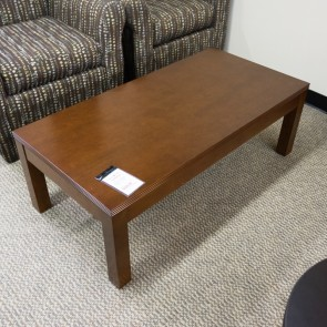 "[Closeout] OFD Kent 48"" Coffee Table K-19LCH (Light Cherry) OCC03AOFCO"