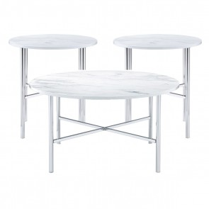 Ellie International Kyrus Occasional & End Tables Set